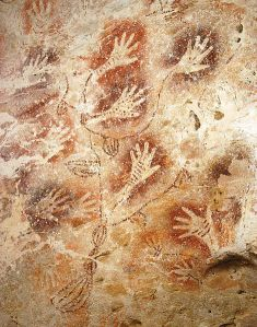 Gua Tewet cave painting