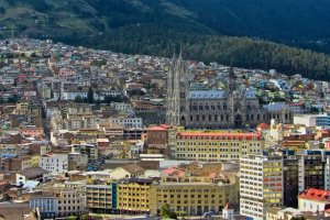 The Basilica and part of Quito